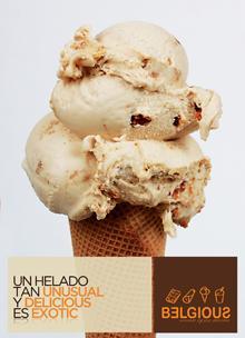 Con el helado de la franquicia Belgious harás triple negocio