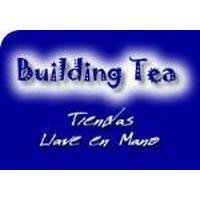 Building Tea Montaje de tiendas de té