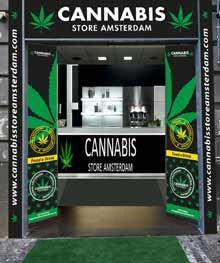 Puedes abrir una tienda de  Cannabis Store Amsterdam desde 24000 euros
