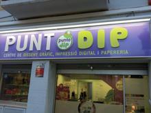 Diseño, impresión y papelería ¡Punto DIP es la franquicia!