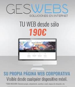 Conviértete en un as de Internet con Geswebs
