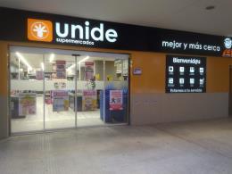 Precio para abrir un supermercado de Unide