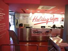 Holiday Gym