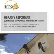 La franquicia Imo24h  innova con un nuevo servicio de trabajos verticales para la Península Ibérica.