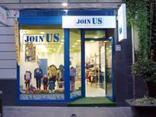 Con la franquicia de moda JoinUs cubrirás todo el mercado