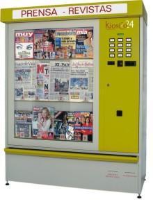La prensa en las panaderías se venderá en máquinas de Kiosco24