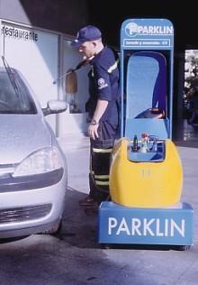Desembarca Parklin, un nuevo e innovador sistema ecológico de lavado manual de coches en aparcamientos.