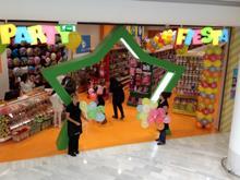 La franquicia Party Fiesta inaugura su primer establecimiento en El Corte Inglés