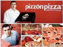 La franquicia Pizzón Pizza, con el programa de TV Fama