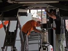 Una franquicia donde el vehículo lo repara el cliente