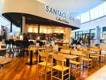 Santagloria seduce con su franquicia de cafetería-panadería