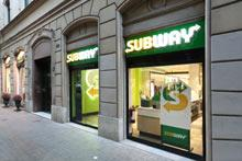 Subway, bocadillos exclusivos