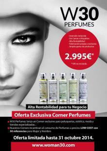 Hasta dónde llega la franquicia de perfumes W30