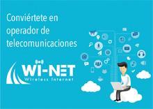 La franquicia de telecomunicaciones Wi-Net te espera en el SIF de Valencia